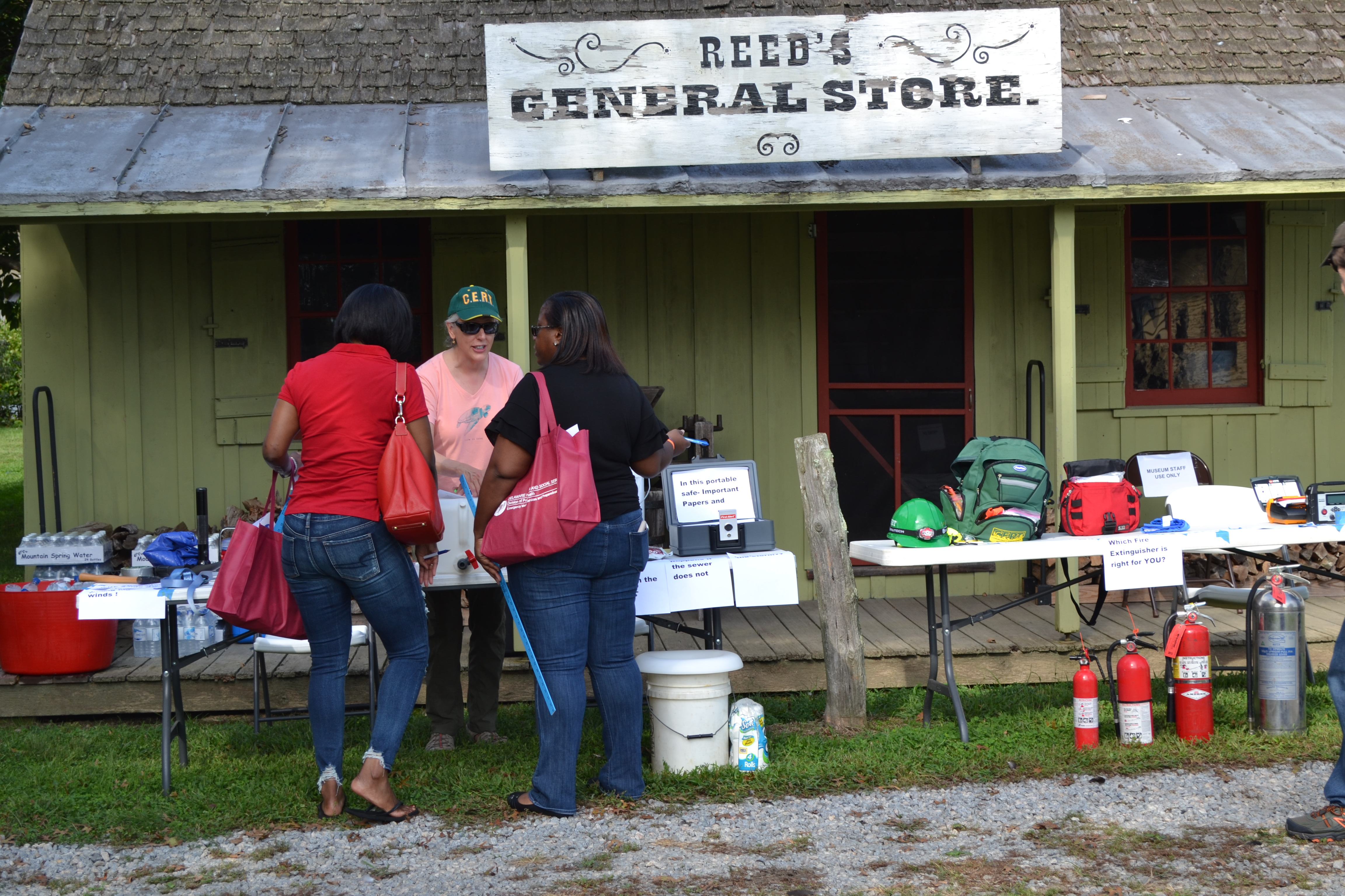 Family Preparedness Day Photo of Reed's General Store Supplies Vendor Table
