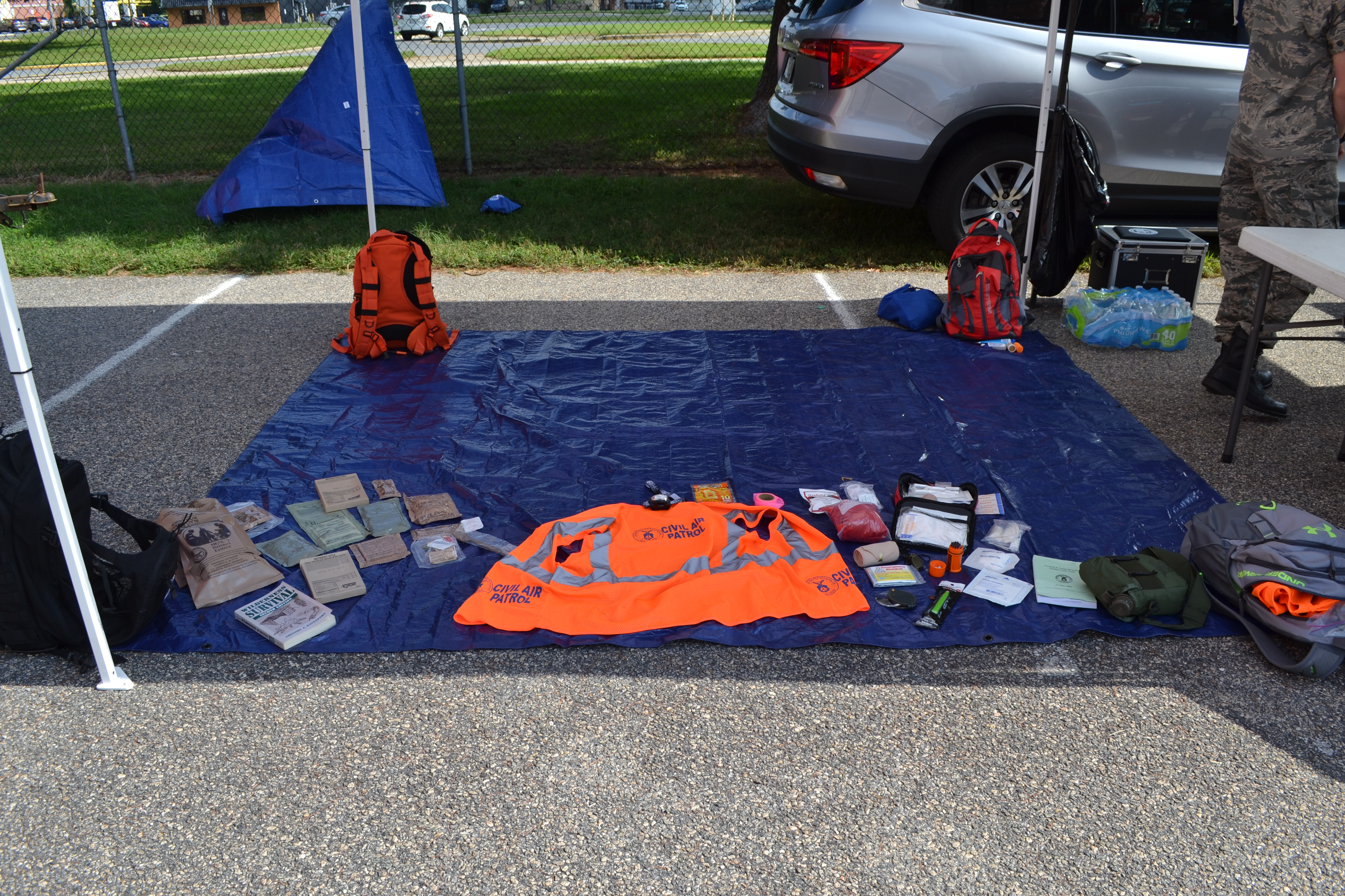 Family Preparedness Day Information and Supply Tent